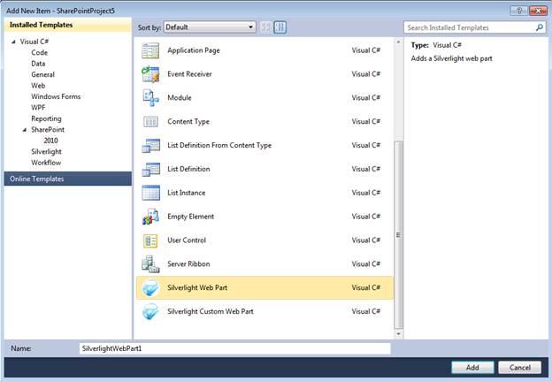 Silverlight SharePoint Web Parts - Visual Studio Marketplace